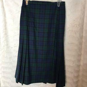 Women's Vintage Pendleton Skirt 100% Wool
